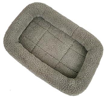 Xiaoyu Invierno cálido cómodo perro gato mascota colchoneta para mascotas / perreras / jaula / cama jaula, gris, L: Amazon.es: Productos para mascotas
