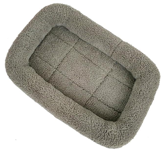 Xiaoyu Invierno cálido cómodo perro gato mascota colchoneta para mascotas / perreras / jaula / cama jaula, gris, M: Amazon.es: Productos para mascotas