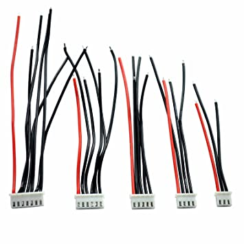 Amazon.com: HRB 2-6S Cable de silicona cargador de ...