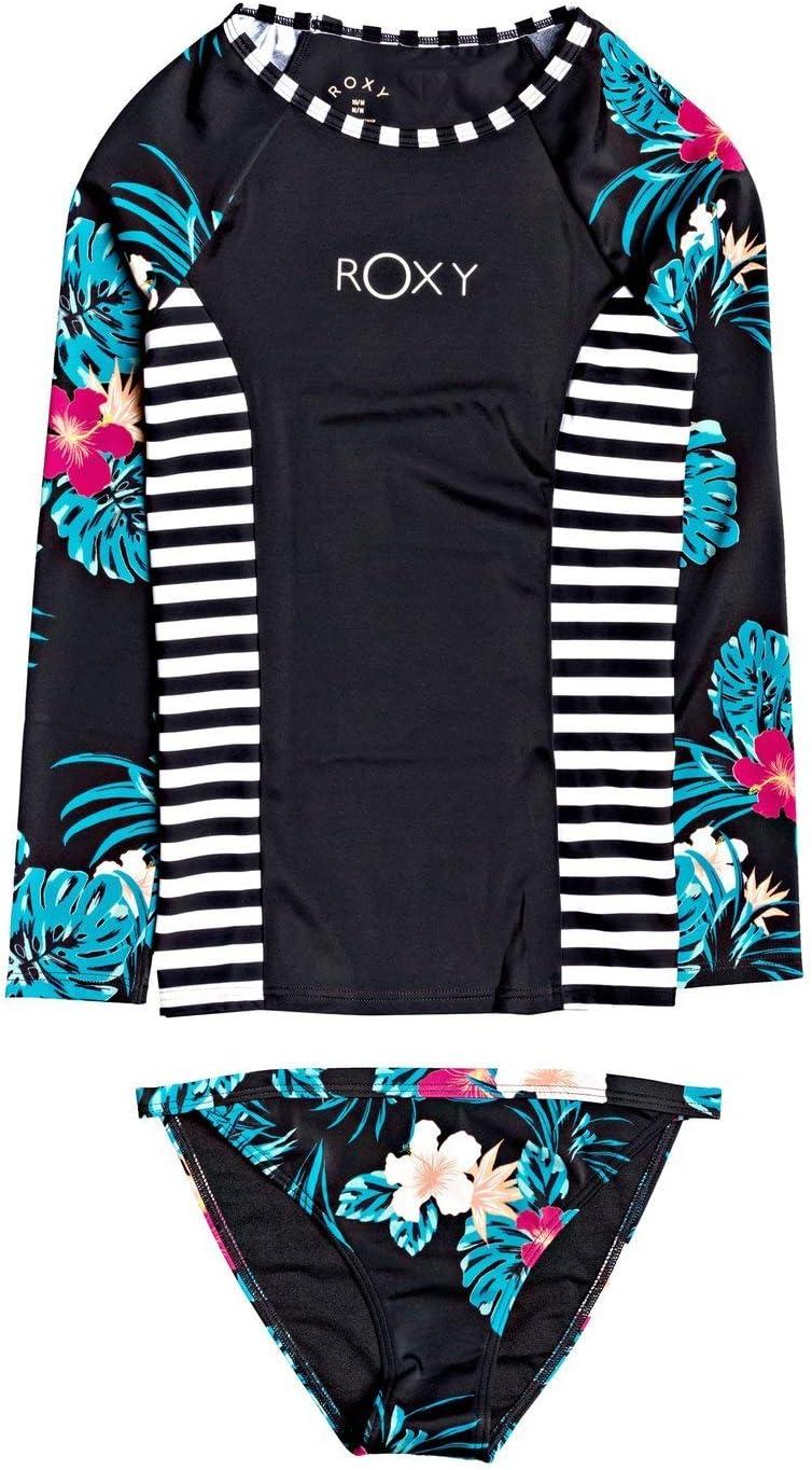 Roxy Girls Sunkissed Long Sleeve UPF 50 Rash Vest Set Ergwr03208