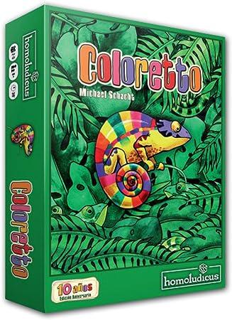 Devir - Coloretto (25036): Amazon.es: Juguetes y juegos