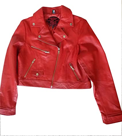 294af8316 Amazon.com : Knoles & Carter Women's Leather Motorcyle Style Jacket ...