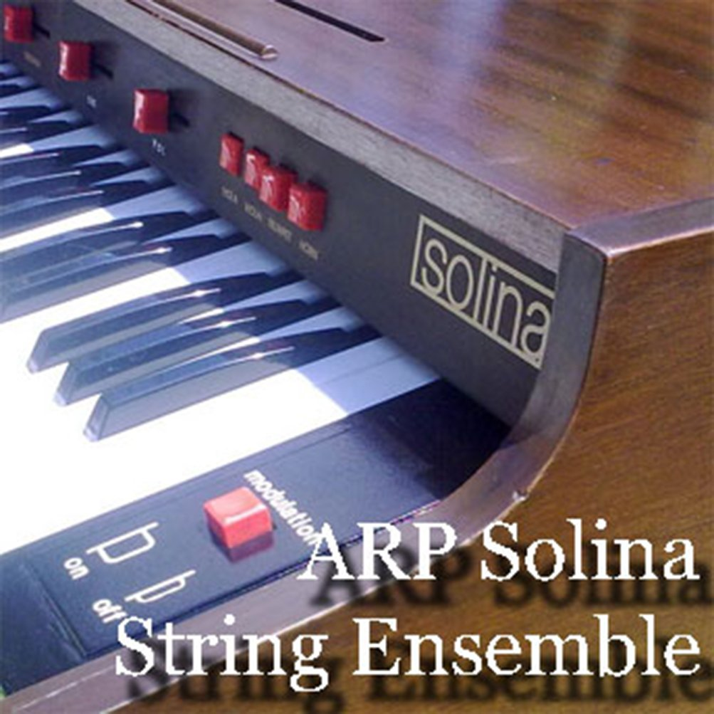 ARP SOLINA Strings Ensemble - Large Original 24bit Multi-Layer WAVe Samples Studio Library 1.7GB; FREE USA Continental Shipping on DVD or download by SoundLoad (Image #1)