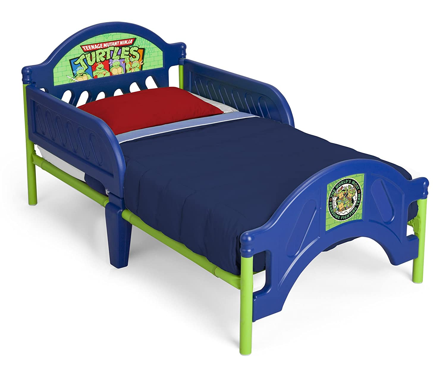 amazon com delta children plastic toddler bed nickelodeon ninja