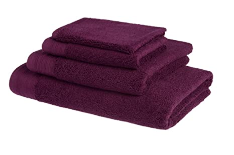 Juego de toallas de baño de lujo de algodón peinado egipcio de 600 g/m2