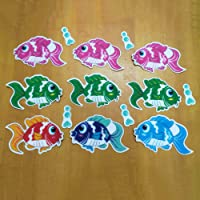 Loosnow Non Slip Bathtub Stickers Marine Life Bathroom Adhesive for Bath Tub Stairs Shower Room