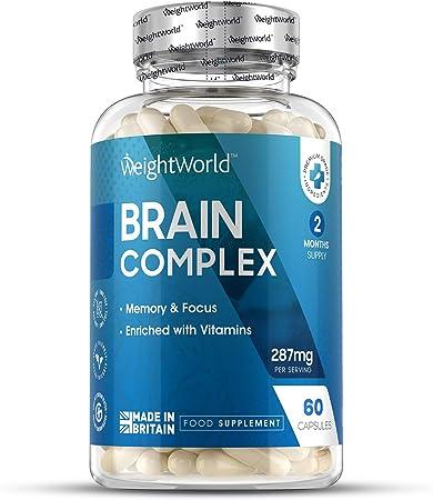 Nootrópico Natural Brain Complex 60 Cápsulas | Suplemento Para el ...