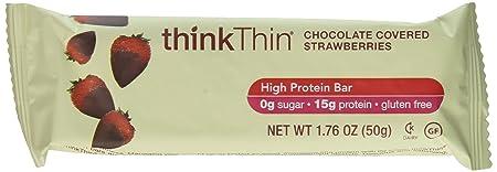 Think Thin 20 Pack 2 X Box of 10 – Chocolate Strawberry