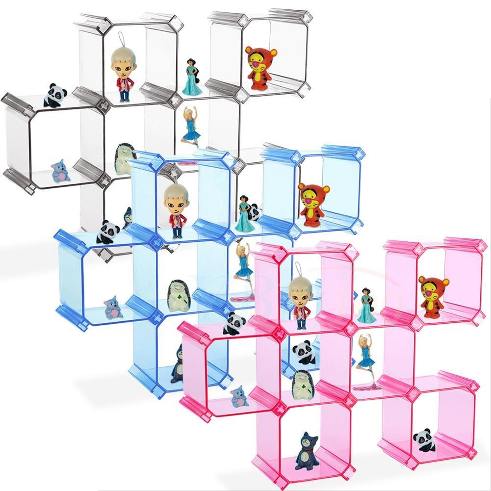 /Organizador de cajones Armario Caj/ón de pl/ástico Grid Divider Organizador Contenedor Home Ropa Interior Memoria Escritorio Fdit Ajustable/