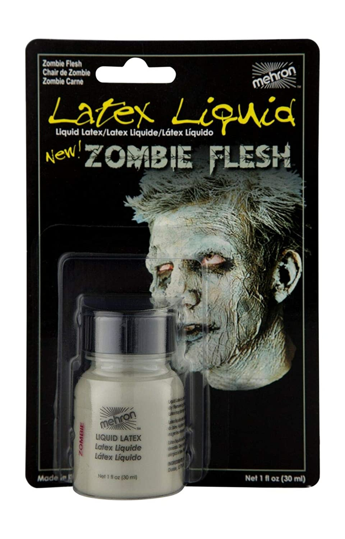 Mehron Makeup Liquid Latex (1 Ounce) (Zombie Flesh)