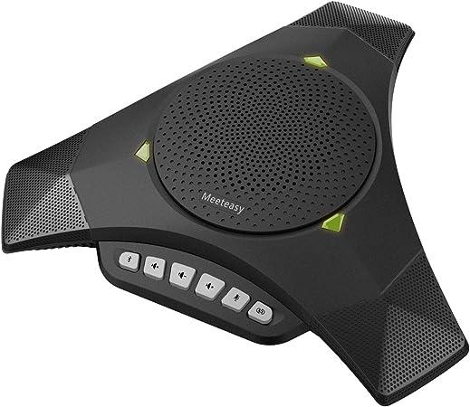 Meeteasy MVOICE 8000-B Plus Bluetooth USB Speakerphone for Conference Call