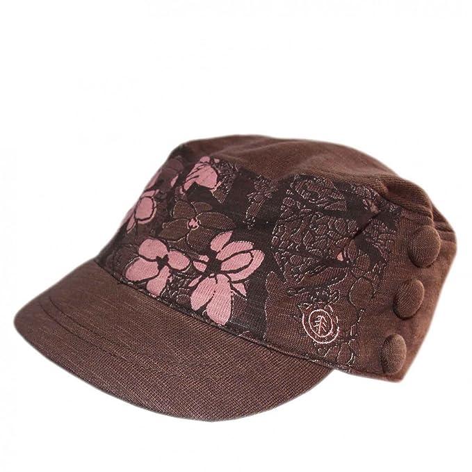 Element - Gorra de béisbol - para Mujer Marrón Dusk Talla única: Amazon.es: Ropa y accesorios