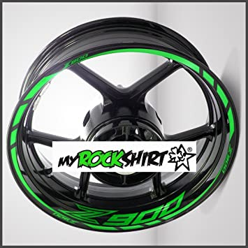 Full Set Rim Sticker Rims Inner Stickers For Kawasaki Z900 Motorcycle Bike