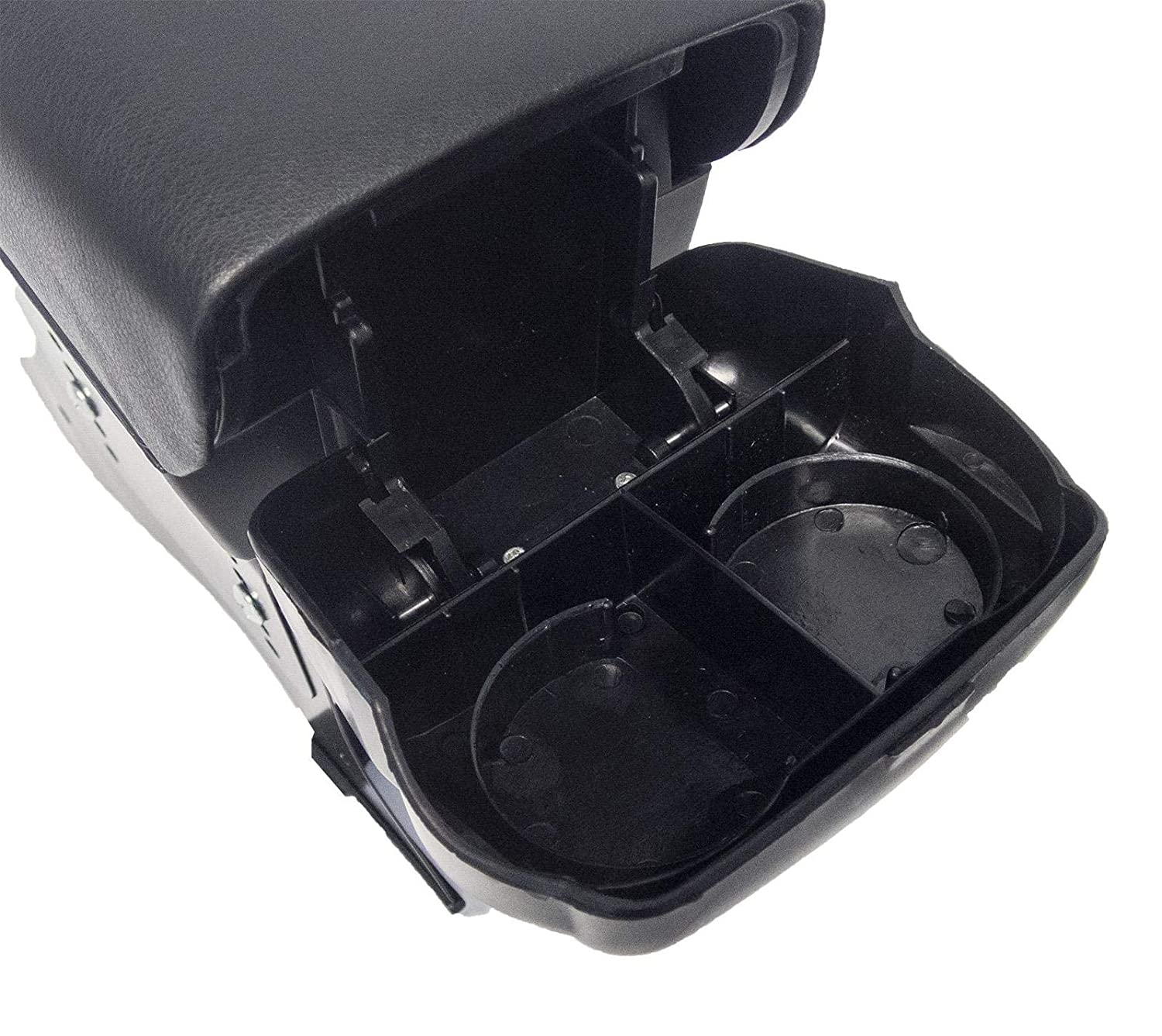 Strong And Durable UKB4C Universal Car Centre Console Black ArmRest Includes Coinholder and Drink Holder