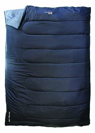 Yellowstone Slumber - Saco de dormir rectangular para acampada, color negro: Amazon.es: Deportes y aire libre