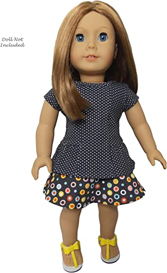 "American Girl TM RECESS READY OUTFIT~ NO SHOES for 18/"" Dolls School Clothes NEW"