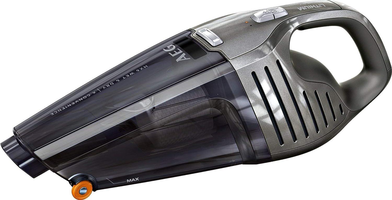 Aeg HX6-14TM-W Aspiradora De Mano, 0.5 litros, 78 Decibelios, 2 Velocidades, Sólidos y líquidos