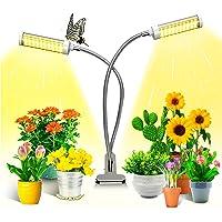 KagoLing växtlampa, växtljus för inomhusväxter med 100 LED-lampor fullt spektrum LED odlings växtlampa 360 ° justerbar…