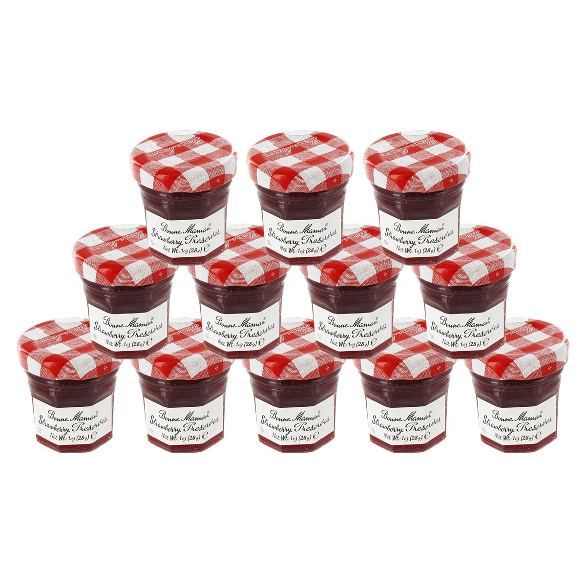 Bonne Maman Mini Preserves - Strawberry - 1oz (Case of 12)