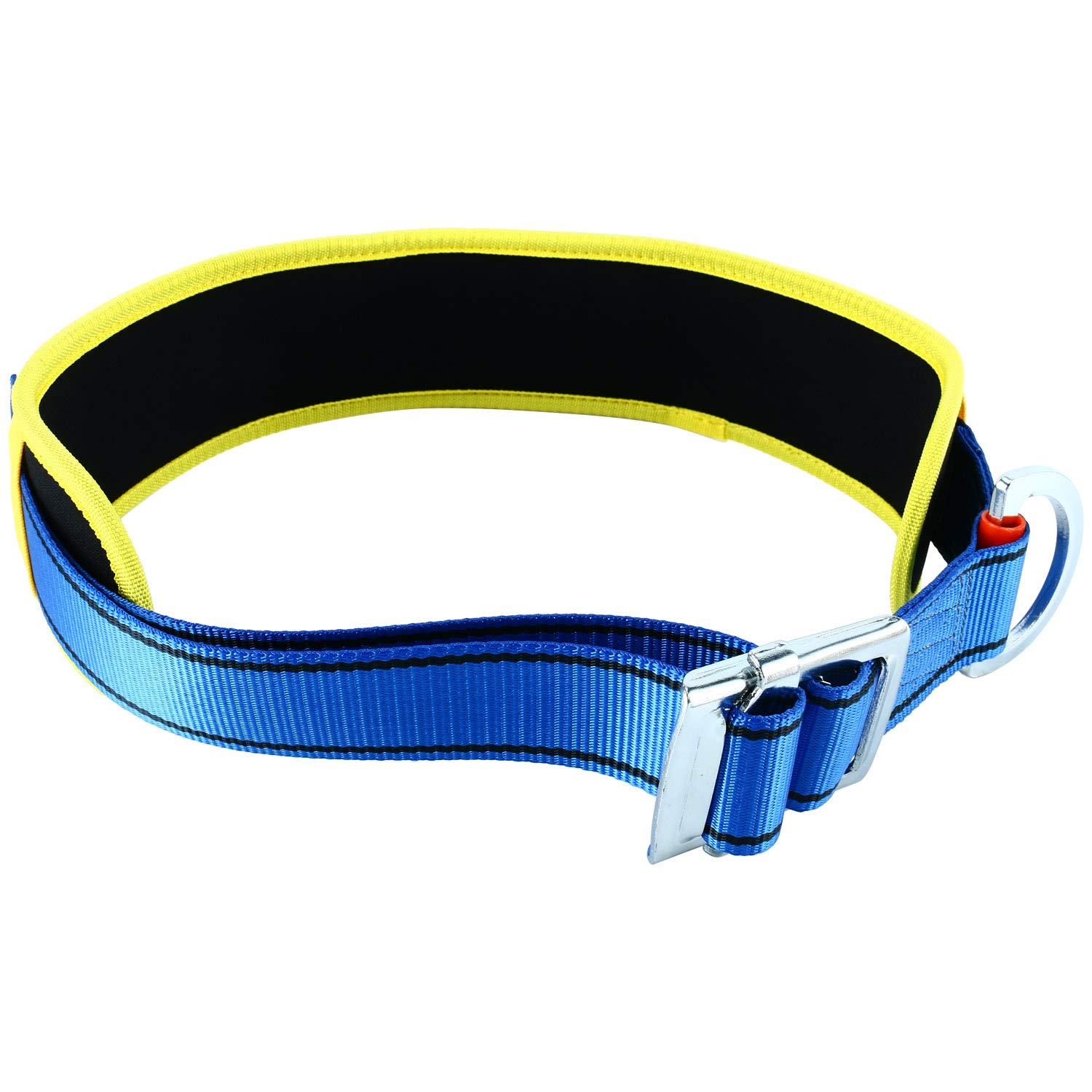 YaeCCC Body Belt with Hip Pad and Side D-Ring, Fall Arrest Safety Harness by YaeCCC