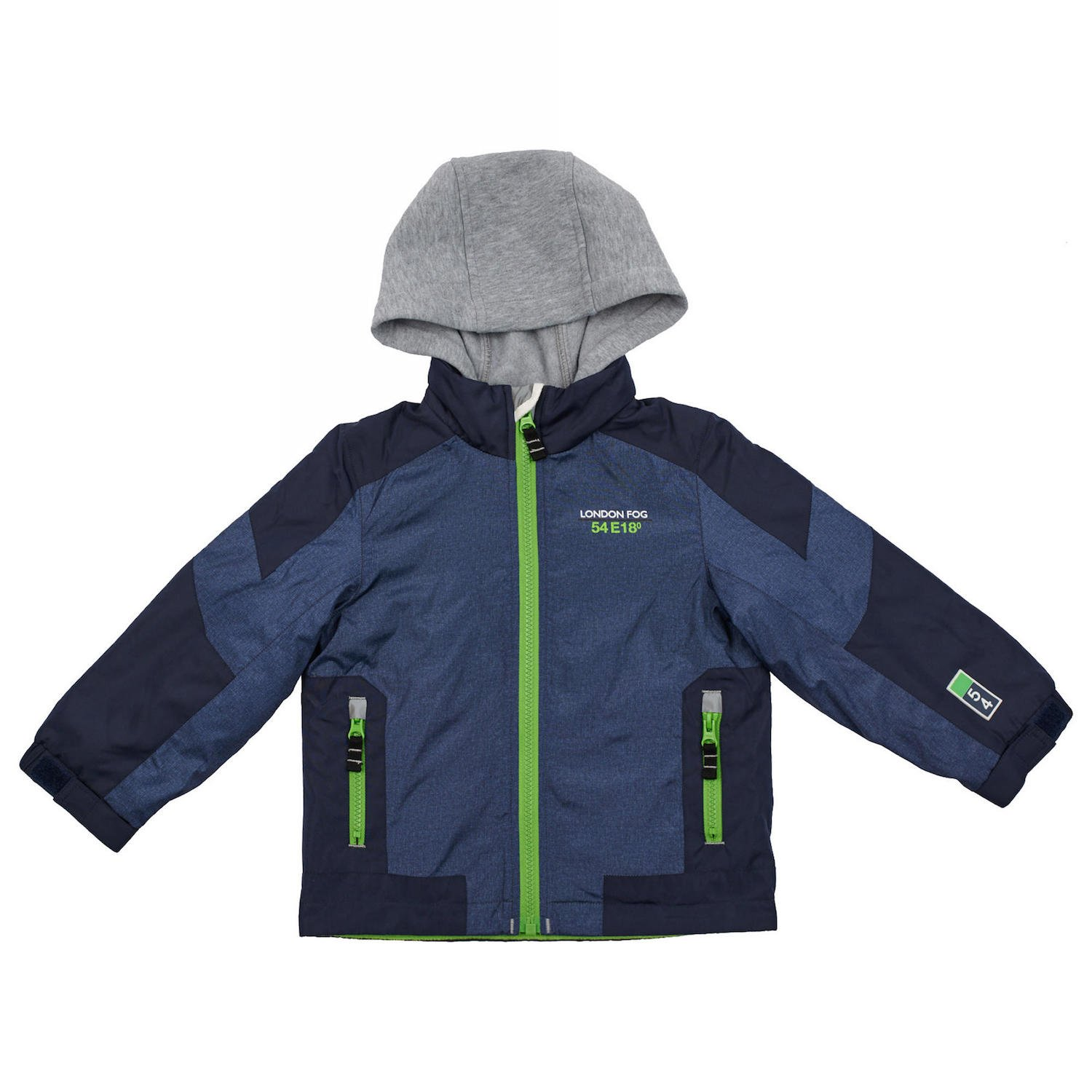 London Fog Boys Poly Fleece Lined Windbreaker RN15104