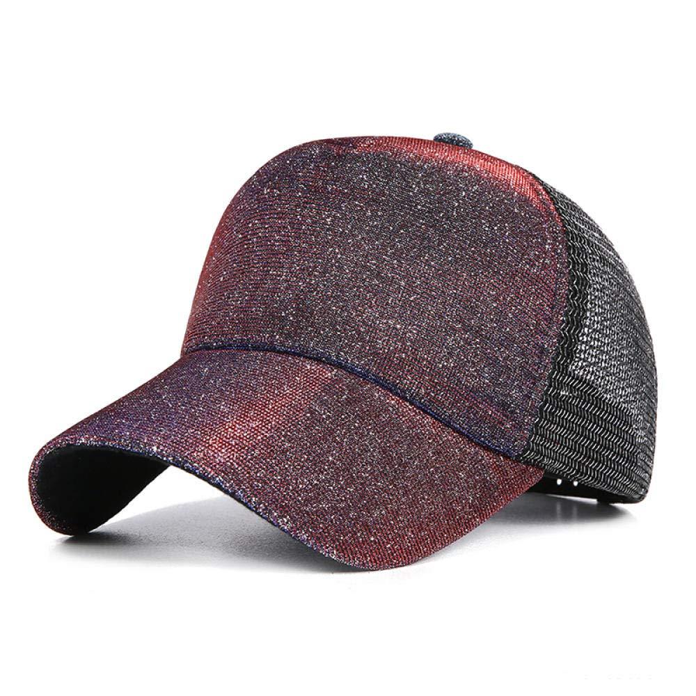Baseball Cap Shining Mesh 5 Colors Summer Fashion Trend Hat Gorra de beisbol