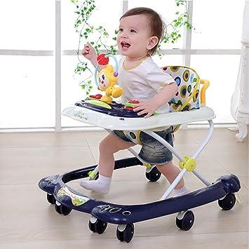 WSQ Bebés y Niños Pequeños Baby Walker 6/7-18 Meses de ...