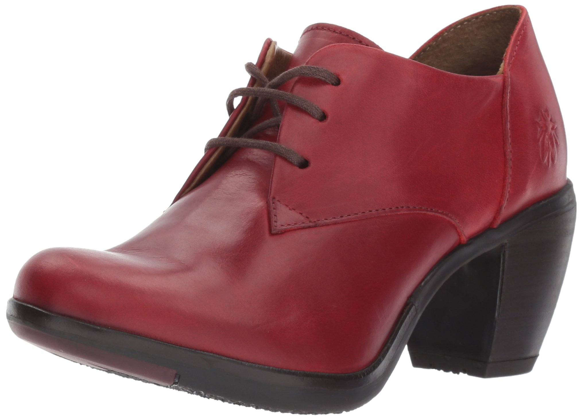 FLY London Women's HIRA128FLY Oxford, Red Rug, 39 M EU (8-8.5 US)