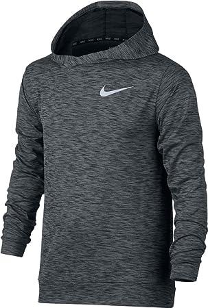 Nike B Nk Dry Hoodie Hyper Sudadera, Niños, Negro (Black/Wolf Grey), S: MainApps: Amazon.es: Deportes y aire libre