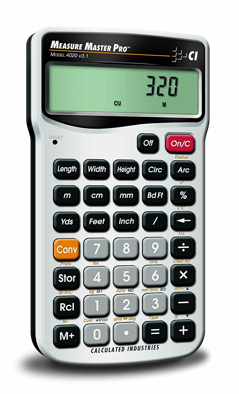 Calculated Industries 4020 Measure Master Pro Measurement Conversion Calculator