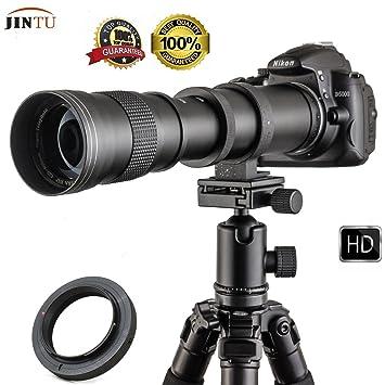 Jintu objetivo de cámara de 420 - 800 mm f/8,3 Super teleobjetivo ...