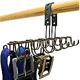 LoKii Belt Hanger, Scarf Organizer, Tie Holder, or Belt Rack for Closet Storage
