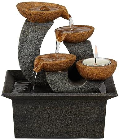 """Amazon.com: Hayden Indoor 7"""" High Table Fountain: Home & Kitchen"""