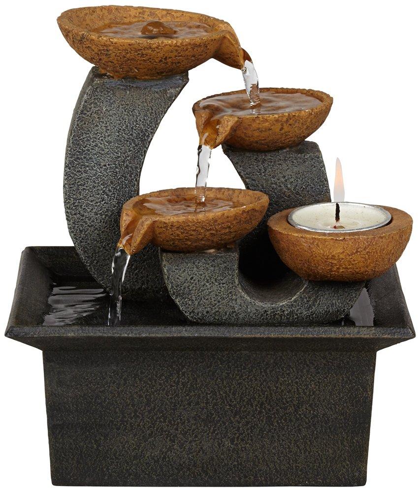 Hayden Indoor 7'' High Table Fountain