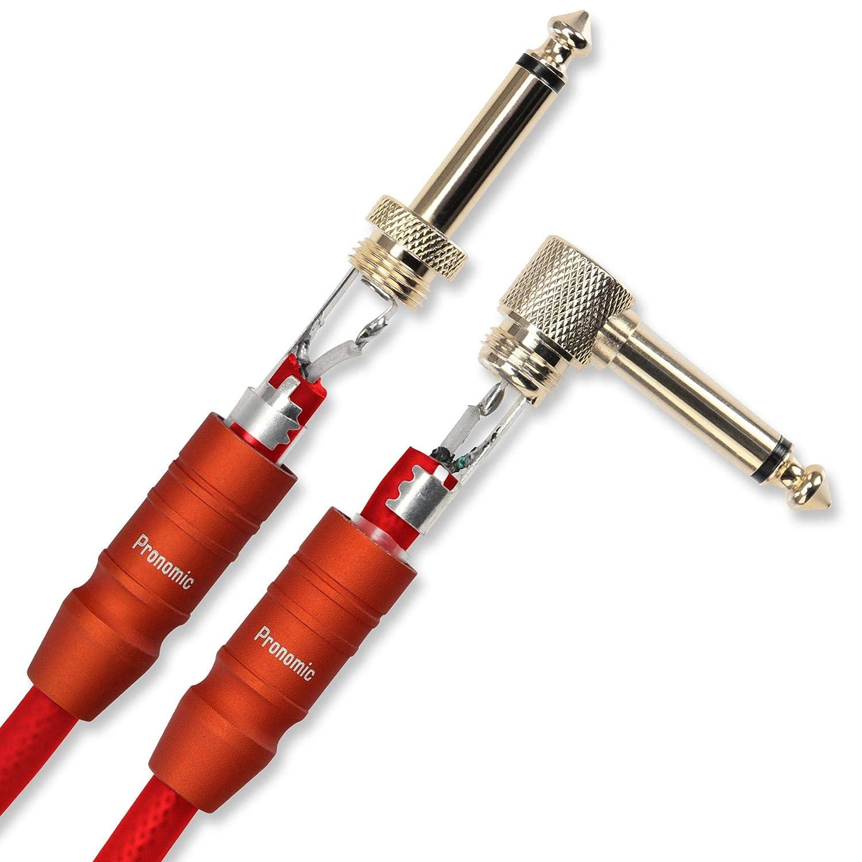 Pronomic Trendline INST-3R Cavo strumenti 3m rosso