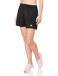 Adidas Damen Sportsshorts, Schwarz (Black), DE 40 (Herstellergröße: 46)