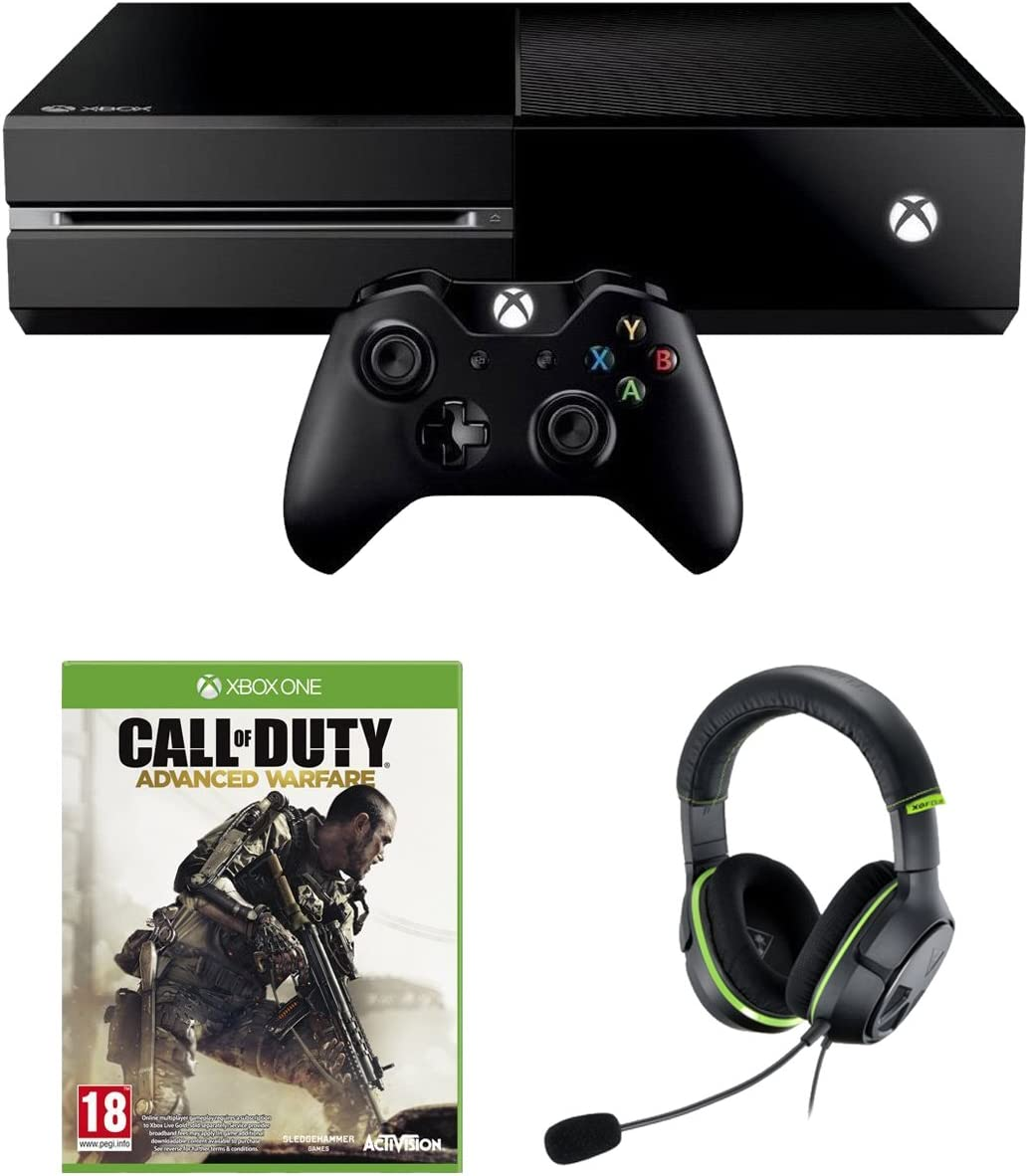 Xbox One Console with Call of Duty: Advanced Warfare and Turtle Beach XO4 Headset [Importación Inglesa]: Amazon.es: Videojuegos