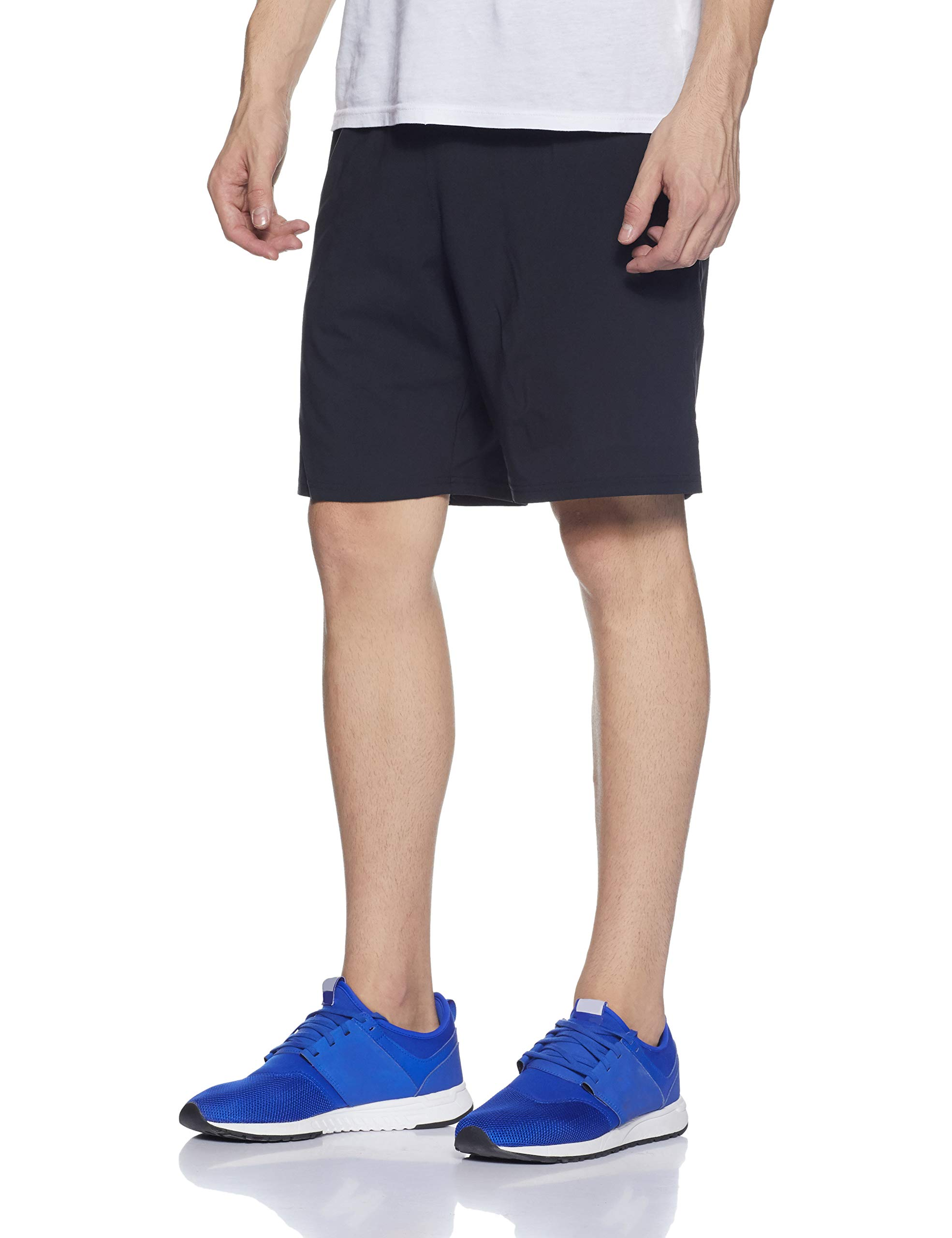 Under Armour Men's Launch 9'' Shorts, Black/Reflective, X-Small by Under Armour (Image #3)