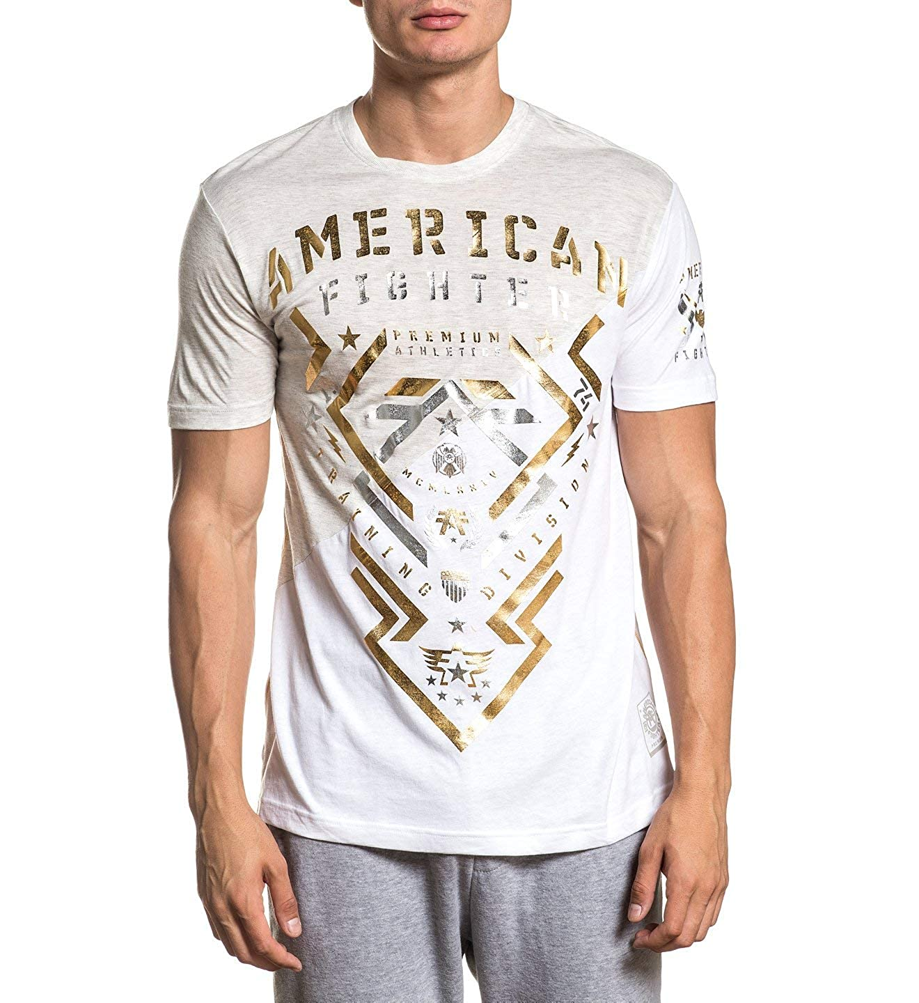 American Fighter Mens Century Panel Graphic T-Shirt