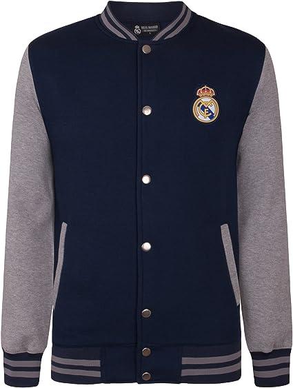 Real Madrid - Chaqueta Deportiva Oficial para Hombre - Estilo ...