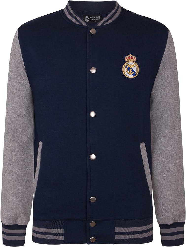 Real Madrid - Chaqueta Deportiva Oficial para niño - Estilo ...