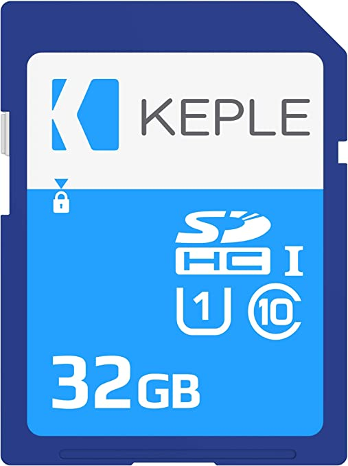 Keple 32GB 32Go SD Tarjeta de Memoria di High Speed SD Card Compatible con Sony Alpha NEX-6, NEX-3N, NEX-5T, A3000, 7, 7R, A5000 DSLR Digital Camera | 32 GB Storage Classe 10 UHS-1 U1 SDHC Karte