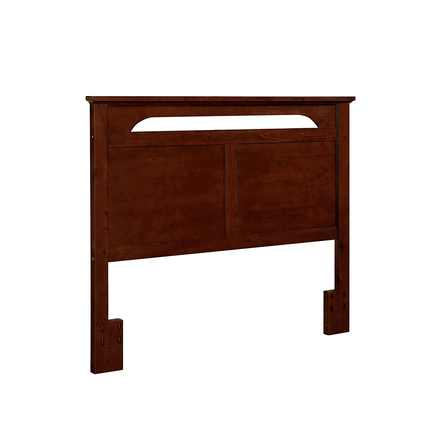 Beautiful Dorel Living Queen Or Full Sized Headboard In Solid Wood In Cherry Finish Nice Look