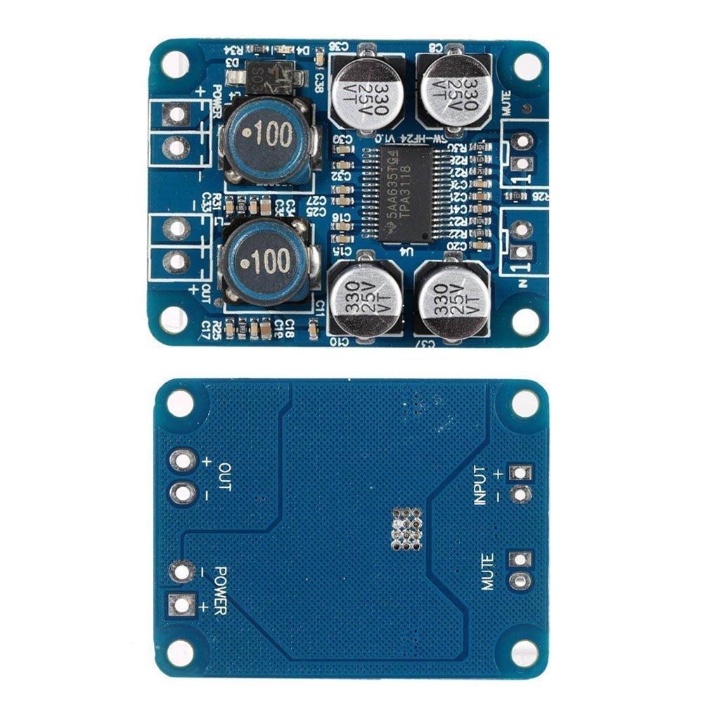 ARCELI TPA3118 PBTL Mono Amplificateur Numé rique Conseil Module 1x60 W Puissance AMP DC 8-24 V QC