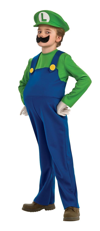 amazoncom super mario brothers deluxe luigi costume medium toys games - Koopa Troopa Halloween Costume