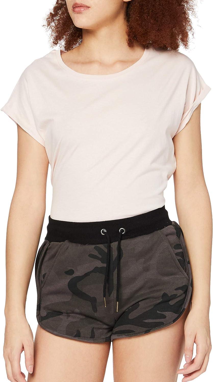 Urban Classics Ladies Camo Hotpants Shorts Femme