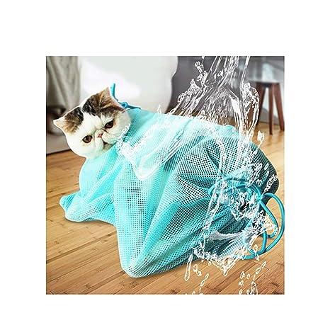 Peng Sheng - Bolsa de Aseo para Gatos para Bañar Uñas, Limpiar los Oídos y