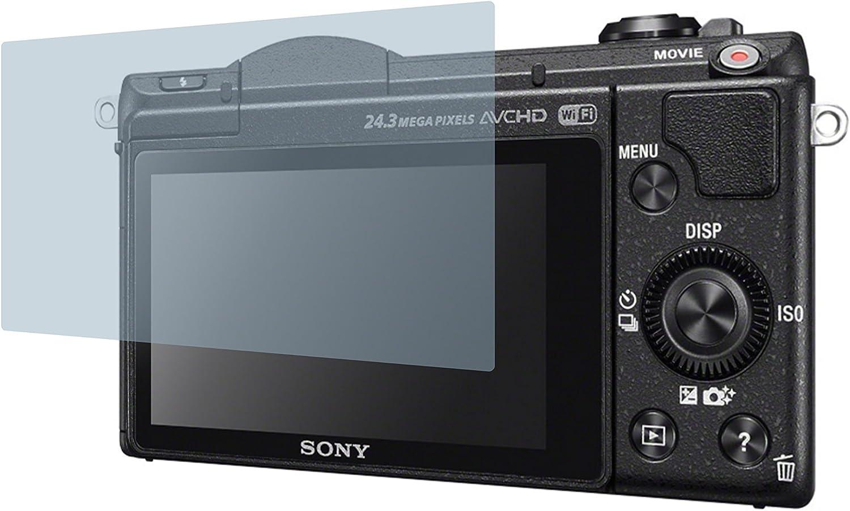 4protec I 2x Crystal Clear Klar Schutzfolie Für Sony Kamera
