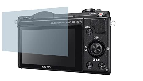 6x Displayschutzfolie für Sony Alpha 99 II Schutzfolie Klar Folie Displayfolie