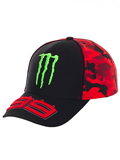 pritelli 1741403 Gorra Béisbol Camo Monster Jorge Lorenzo: Amazon ...